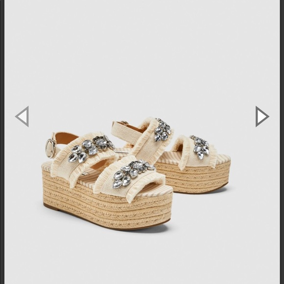 Zara Shoes | Zara Platform Sandals